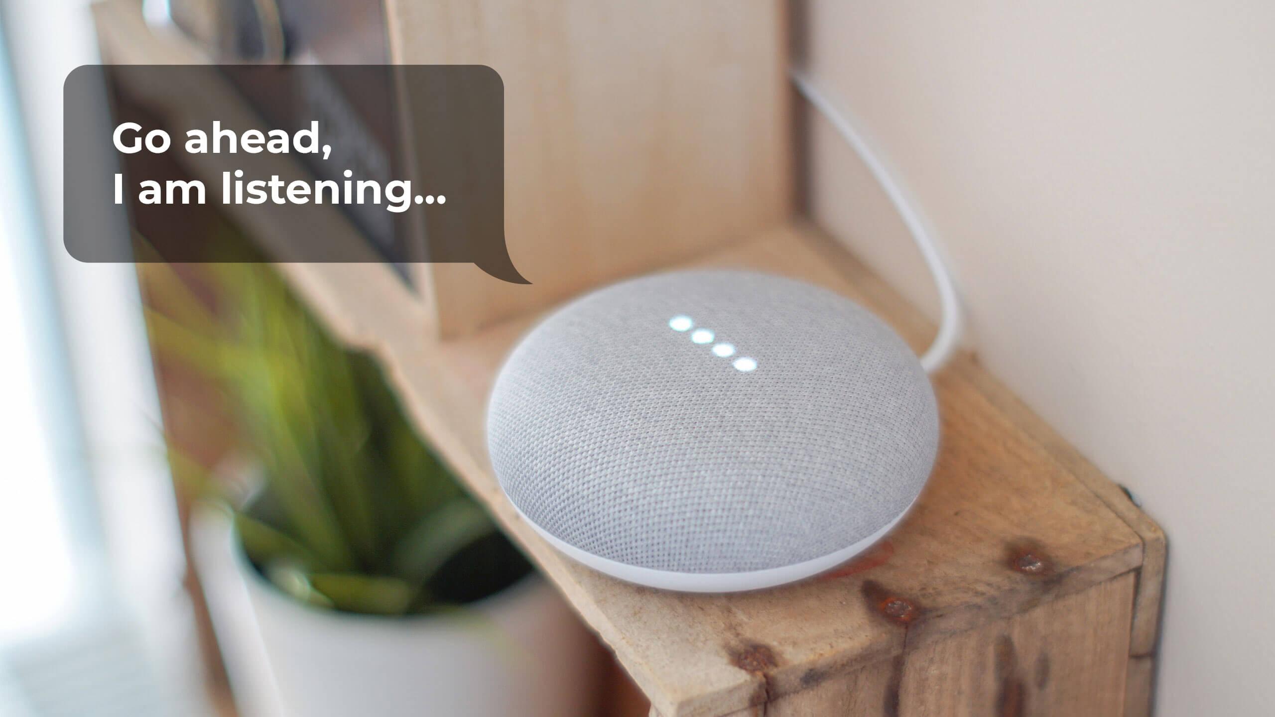 smart-speaker-listening